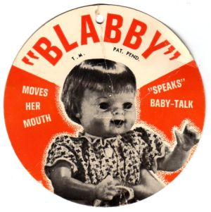She wasn039t kidding nbspSally Fingerett supplies a photo of Blabby Baby