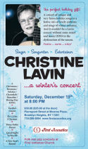 Christine Lavin  A Winter039s Concert