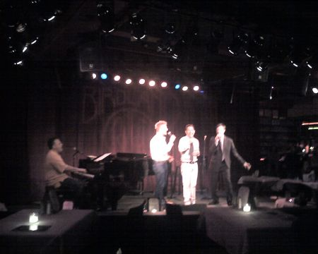 BILLY STRITCH JOHHNY RODGERS CORTES ALEXANDER AND JIM CARUSO -- CAST PARTY FINALE 6809