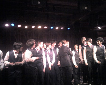 The FLEET STREET SINGERS AT JIM CARUSO039S CAST PARTY
