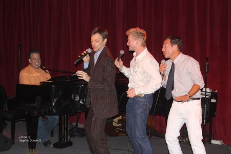 STEVE SOROKOFF039S SUPREMELY SUPERIOR PHOTO OF BILLY STRITCH JIM CARUSO JOHNNY RODGERS AND CORTES ALEXANDER 6809