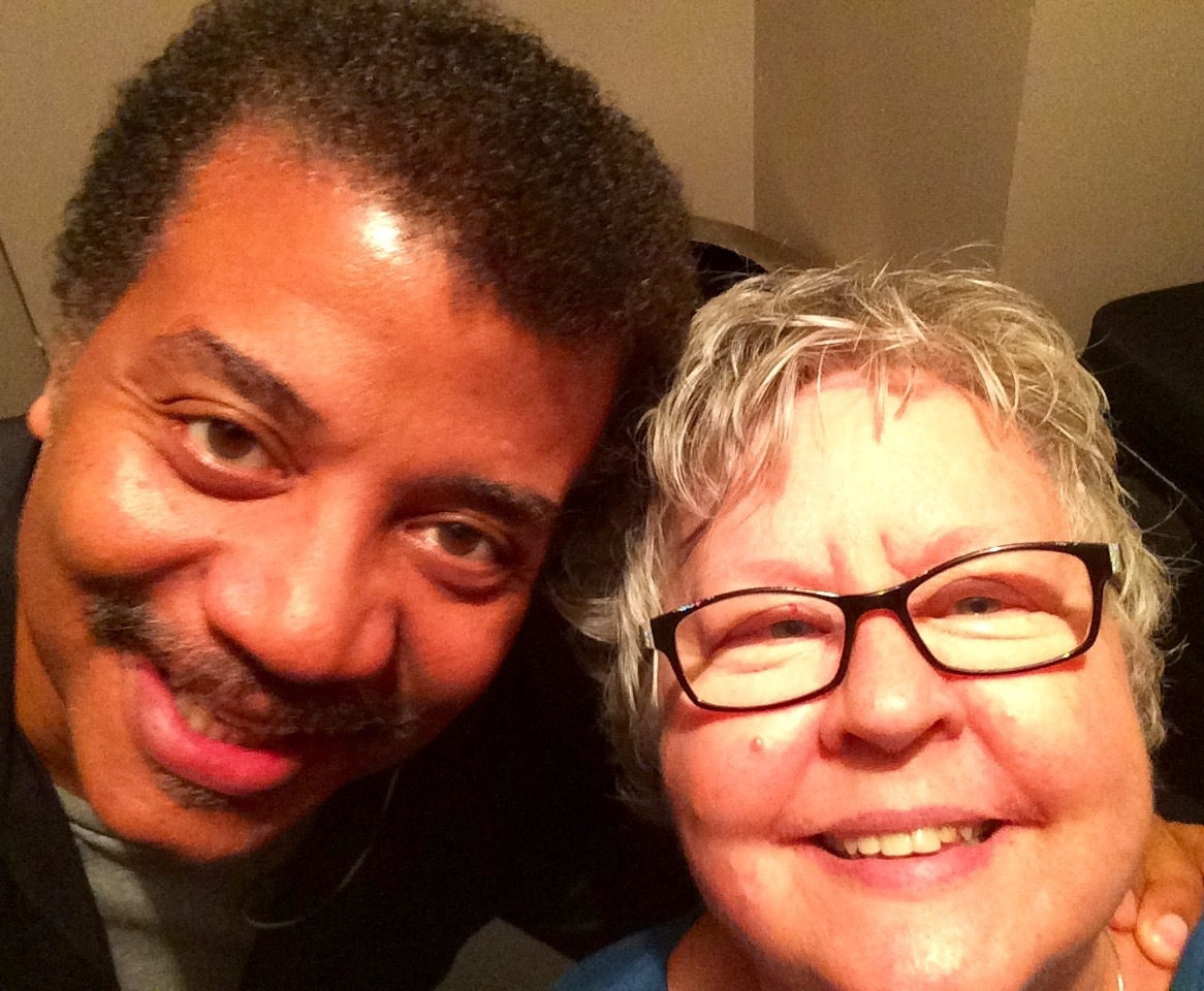 Backstage with Neil deGrasse Tyson at The Beacon Theater