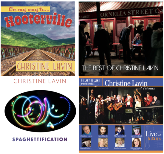 GET THESE 4 CDs from Christine directly - click on