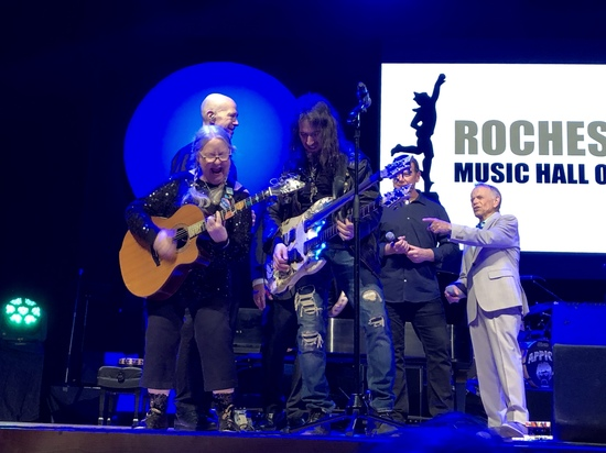 Christine inducted into the Rochester Music Hall of Fame April 28, 2019