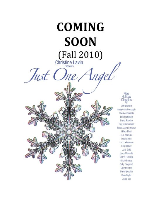 COMING SOON! 22 artists 22 Christmas/Hanukah/Solstice/New Year's Songs: Jeff Daniels, Janis Ian, Kate Taylor, The Accidentals, Uncle Bonsai, & more!