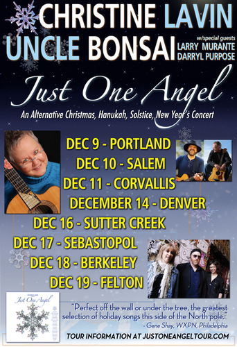 Just One Angel - Christine Lavin & Uncle Bonsai with Larry Murante and Darryl Purpose