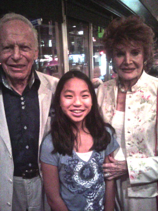 Ervin, Fannie and Edith at Knitty City, August 23, 2010