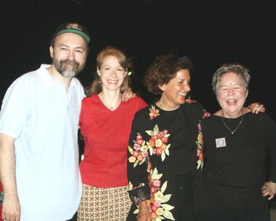 Chip, Annie, Julie & Christine
