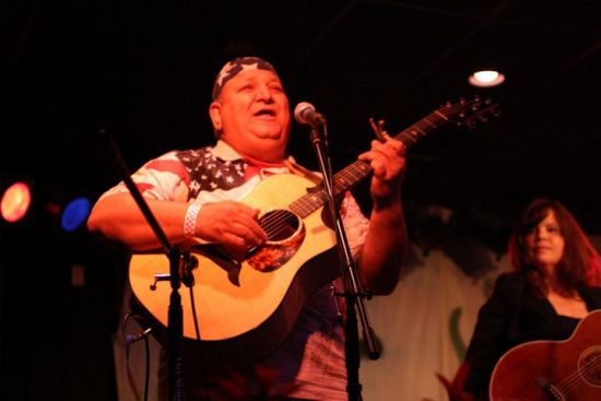HERE'S ONE OF SOUTH FLORIDA'S BEST SINGER/SONGWRITERS, JOE VIRGA