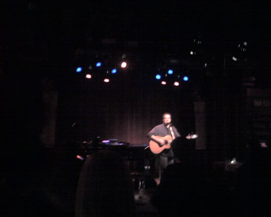 CLIFF EBERHARDT WOWS THE CROWD AT JIM CARUSO'S CAST PARTY
