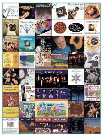 As of 2020, all of Christine's albums and books