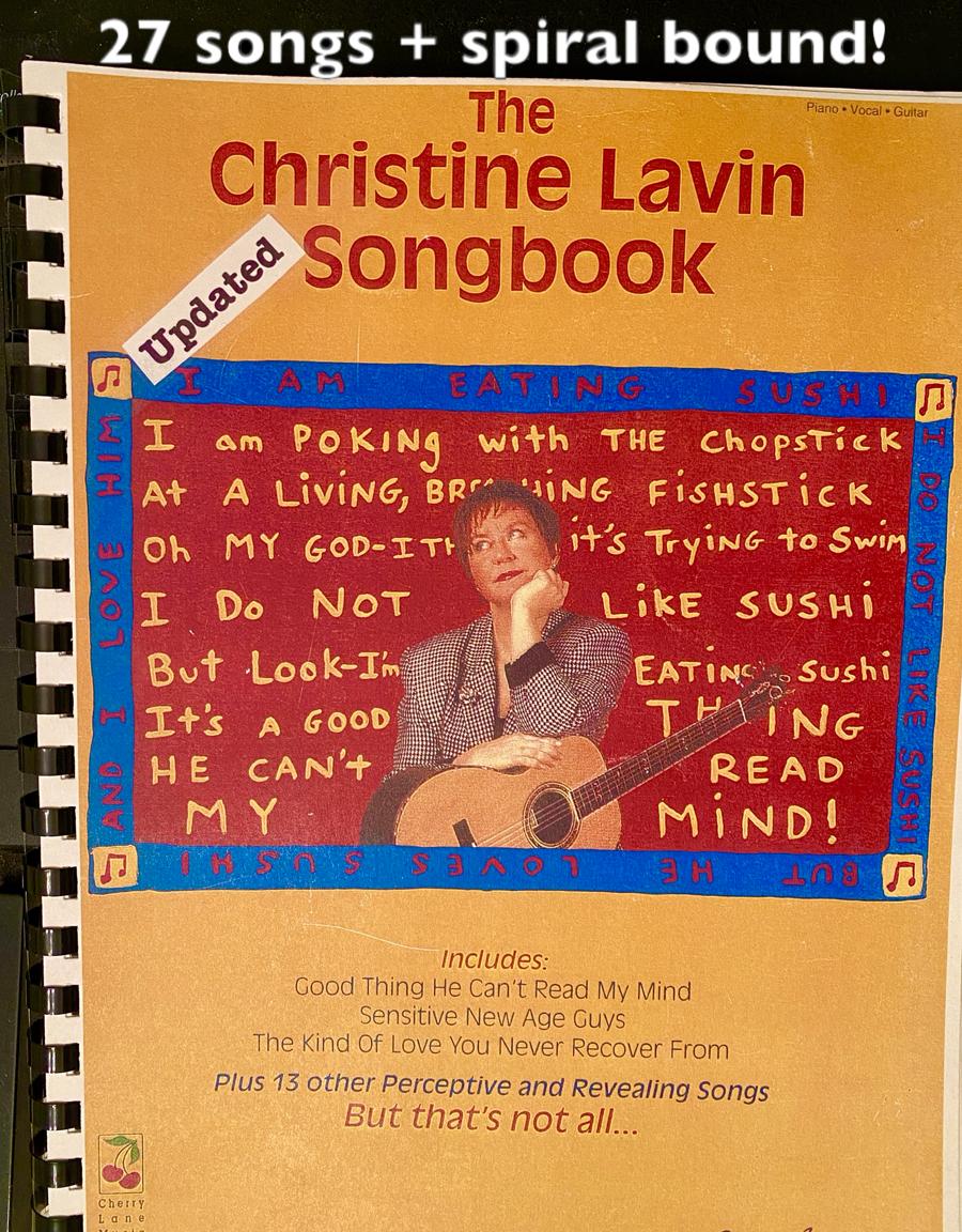 Christine Lavin Songbook cover
