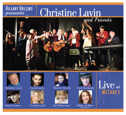 HILLARY ROLLINS PRESENTS: CHRISTINE LAVIN & FRIENDS LIVE AT McCABE'S GUITAR SHOP