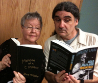 Don White and Me  dueling books