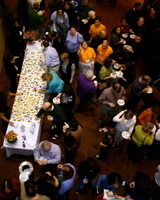 Feeding Frenzy at Intermission of the One Meat Ball Concert