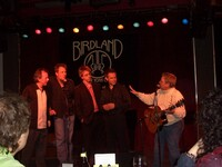 MICHAEL GARIN JEFF DANIELS  AND WHO ARE THOSE TWO OTHER GUYS at JIM CARUSO039S CAST PARTY