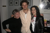 WITH MARK AARON JAMES and JULIE GARNYE at JIM CARUSO039S CAST PARTY